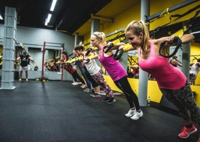 TRX / Skupinové lekce / Fitness Bitevní pole / Praha 7 Holešovice