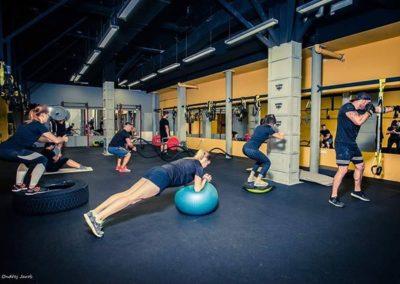 Kruhový trénink / Fitness Bitevní pole